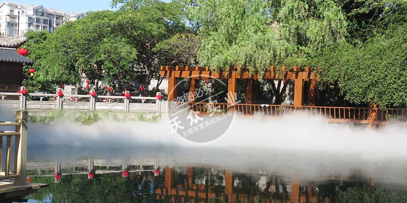 安徽亳州华祖庵景区景观造雾系统