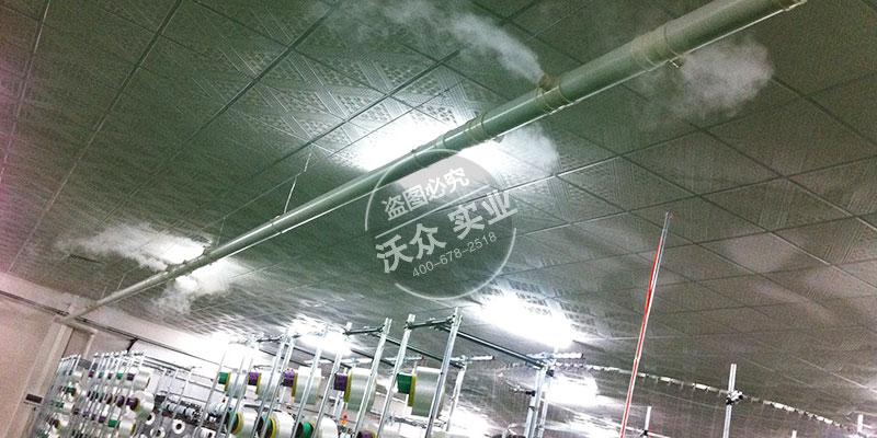 超声波雾化机在工业车间加湿的应用